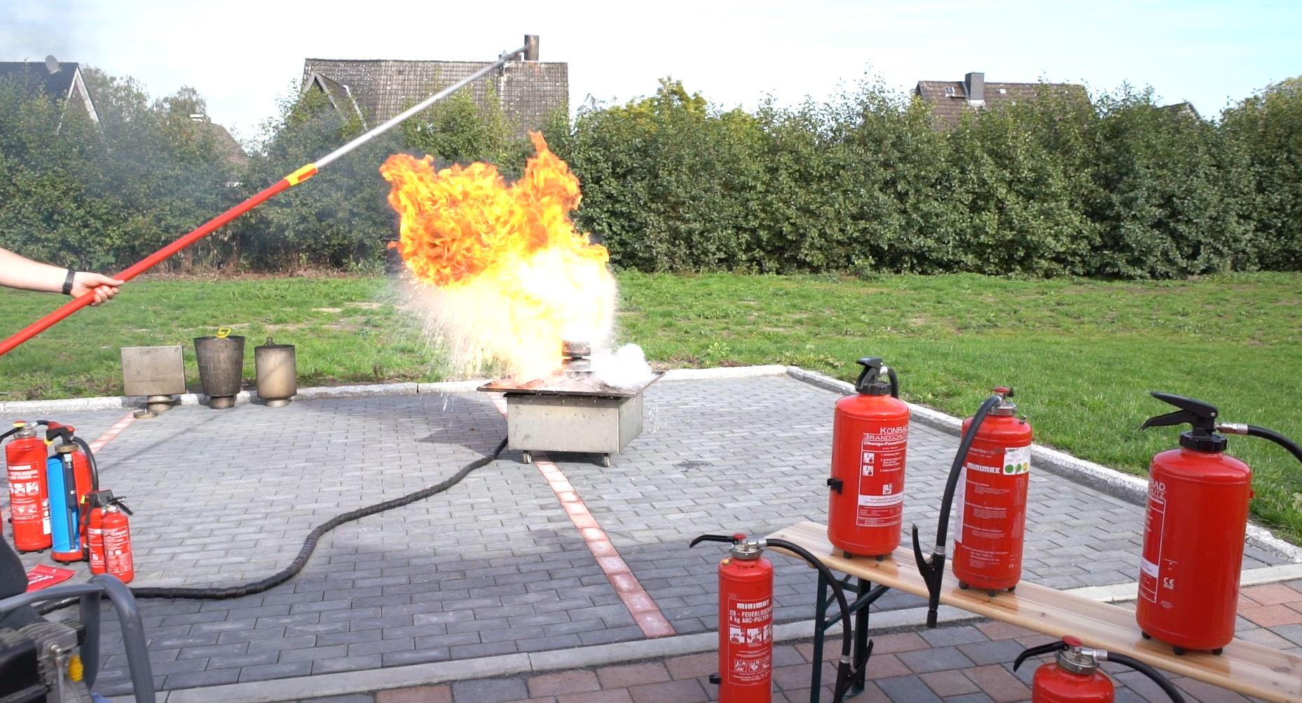 Brandschutzausbildung bei EHTC