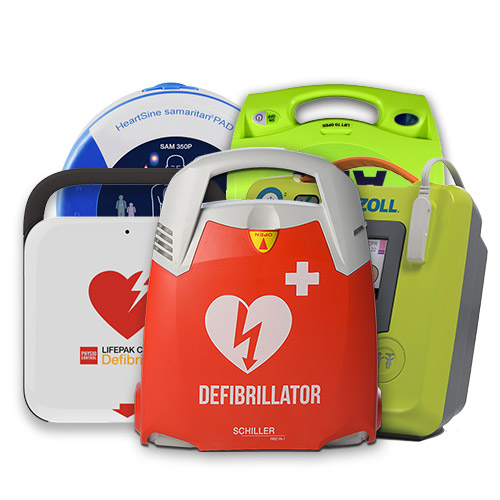 Unser AED Sortiment - EHTC Ersthelfershop